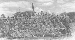 3-я эскадрилия 118-го гвардейского Курского ШАП, 9 мая 1945 года, Литва, аэродром Вегеряй-2