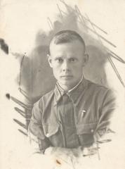 Сержант Однобоков - летчик-инструктор Харьковского авиаучилища, 1941 год.
