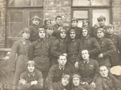 Курсанты Ворошиловоградской школы пилотов, 1940 г.