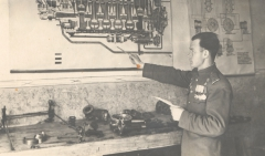 Зачет по двигателям, Псков, 1947
