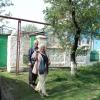 У казачьего дома Василия Бобылёва. (с хозяином).