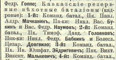 Прикрепленное изображение: Кавказский календарь на 1891 год, Тифлис, 1890, стр. 292.JPG