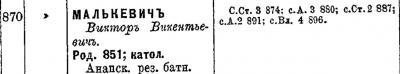 Прикрепленное изображение: Список подполковникам по старшинству. Составлен на 1 января 1898 года, С.-Петербург, Военная Типография (в здании Главного штаба), 1898. стр.119.JPG