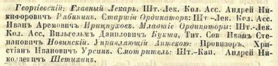 Прикрепленное изображение: Кавказский календарь на 1848 год, Тифлис, 1847, стр.84.JPG