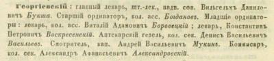 Прикрепленное изображение: Кавказский календарь на 1857 год, Тифлис, 1856, стр.611.JPG