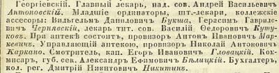 Прикрепленное изображение: Кавказский календарь на 1851 год, Тифлис, 1850, стр.114.JPG