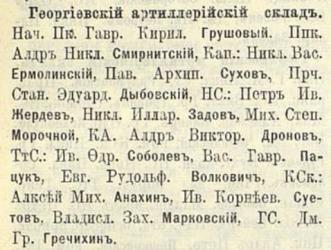 Прикрепленное изображение: Кавказский календарь на 1911 год, Тифлис, 1910, стр.447.JPG