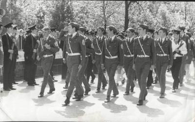 Прикрепленное изображение: Торжественное открытие Поста N1 9 мая 1974 года.jpg