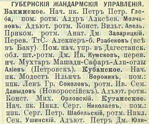 Прикрепленное изображение: Кавказский календарь на 1906 год, Тифлис, Типография К.П.Козловского, 1906, Адрес-календарь, стр.326.JPG