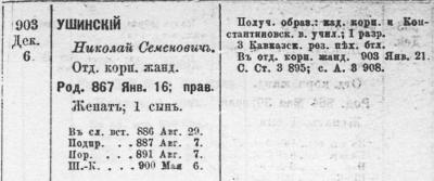 Прикрепленное изображение: Список ротмистрам армейской кавалерии по старшинству на 1909 год, С.-Петербург, 1909, стр.179.JPG