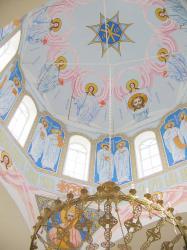 Прикрепленное изображение: Роспись в храме Святой Троицы в с.Краснокумском.jpg