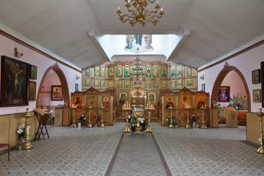 Прикрепленное изображение: Интерьер церкви святого Георгия в городе Георгиевск.jpg