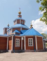 Прикрепленное изображение: Основной объем Никольского собора в городе Георгиевск.jpg
