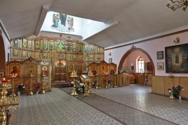 Прикрепленное изображение: Интерьер церкви святого Георгия в городе Георгиевск_1.jpg