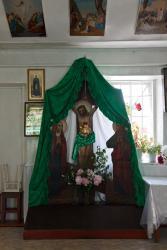 Прикрепленное изображение: Распятие в Архангельском молитвенном доме станицы Незлобная.jpg