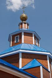 Прикрепленное изображение: Завершение основного объема Никольского собора в городе Георгиевск.jpg