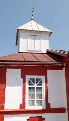 Прикрепленное изображение: Колокольня Архангельской церкви (молитвенного дома) в станице Незлобная.jpg
