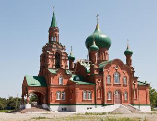 Прикрепленное изображение: Новая Михаило-Архангельская церковь в станице Незлобная.jpg