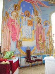 Прикрепленное изображение: Интерьер храма Святой Троицы в с.Краснокумском .jpg
