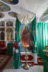 Прикрепленное изображение: Икона архангела Михаила в Архангельском молитвенном доме станицы Незлобная.jpg