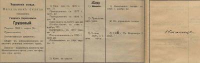 Прикрепленное изображение: 1916.01.01_Список по старшинству в чинах Георгиевского артиллерии?ского склада_стр.2_Грушовыи?.jpg